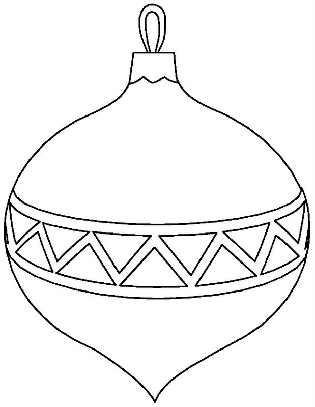 Christmas Ball Ornaments Coloring Pages | Coloring Page