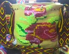 Mochila Wayuu Decorada Ref. 2