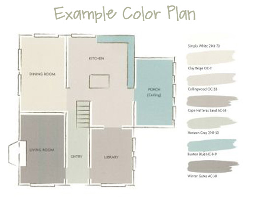 Color Plans To Give You An Idea Of What I Am Talking About