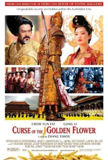 Poster Of Curse of the Golden Flower (2006) Full Movie Hindi Dubbed Free Download Watch Online At alldownloads4u.com
