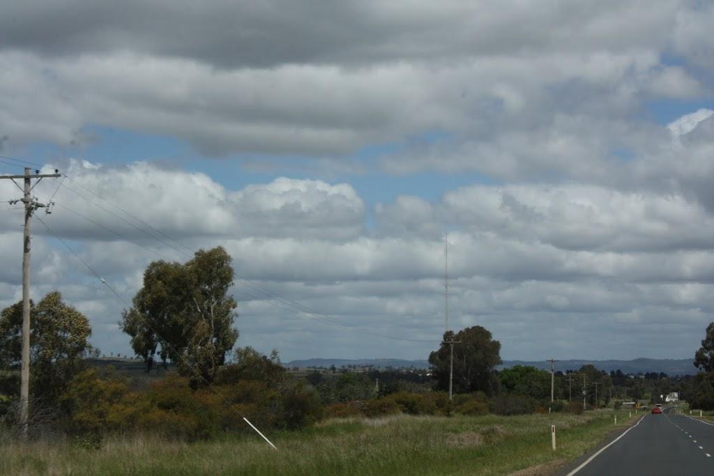 Approaching Wagga Wagga in NSW, Australia
