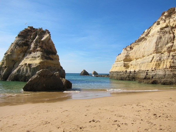 portugal algarve portimao beach