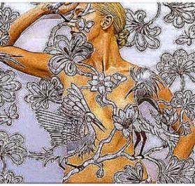 Human Chameleon Body Art  Quazen   Polyvore