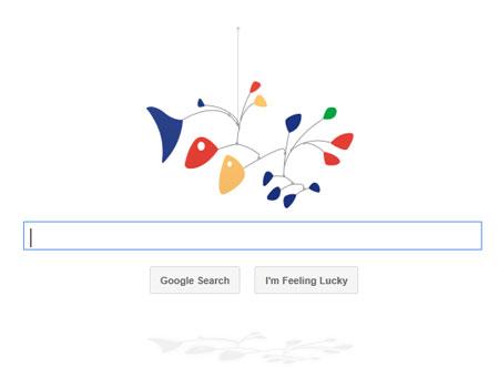 Google Doodle Mobile Alexander Calder