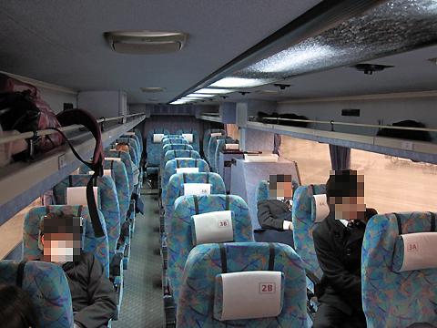 阪急バス「よさこい号」昼行便 05-2888 車内