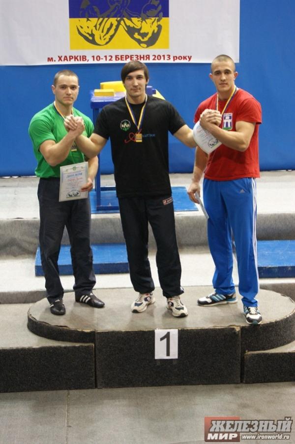 Ruslan Babayev (2nd) - Ievgenii Prudnyk (1st)