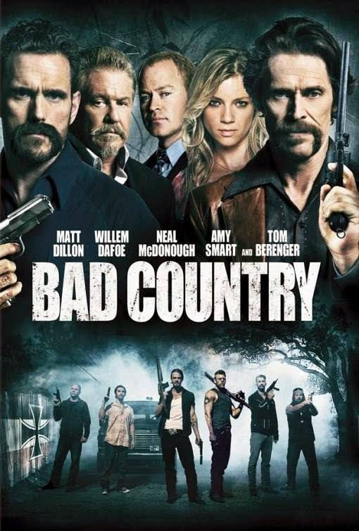 Poster Of English Movie Bad Country (2014) Free Download Full New Hollywood Movie Watch Online At Alldownloads4u.Com