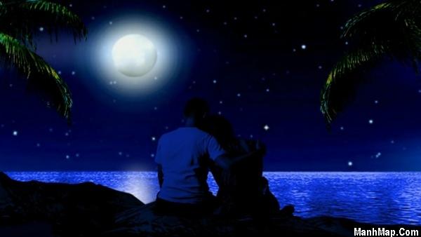 thơ hoài niệm đêm trăng