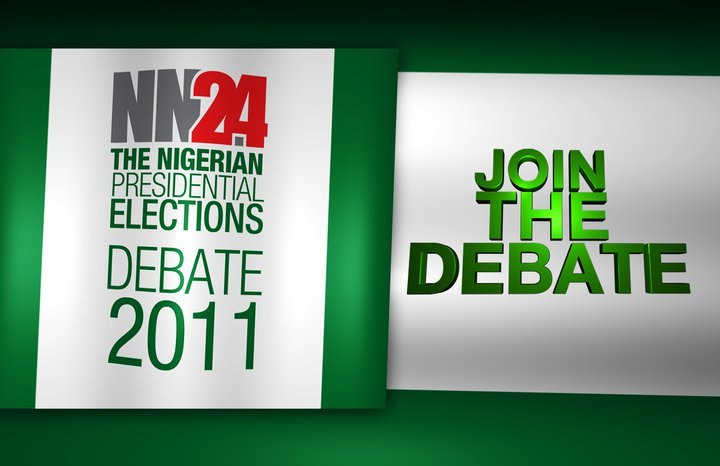 Cable Tv NN24 and Nigerian Vice- Presidential Debate