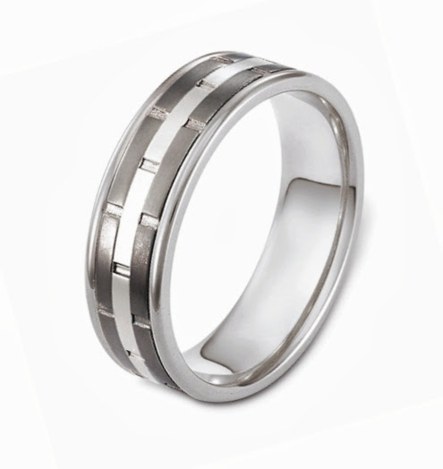 Cable Wedding Band 61 Superb