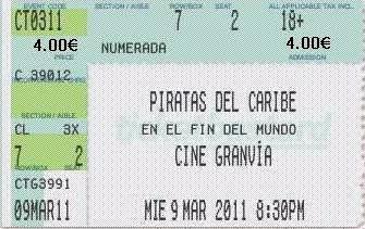 Bad blog boogie el precio de las entradas de cine for Cine capitol precio entrada