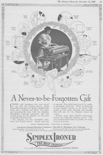 1919 Simplex Ironer - You're sure to get a beating.