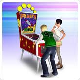 """Автомат для игры в пинбол с атомным пружинным переключателем """"Атака планеты"""""""
