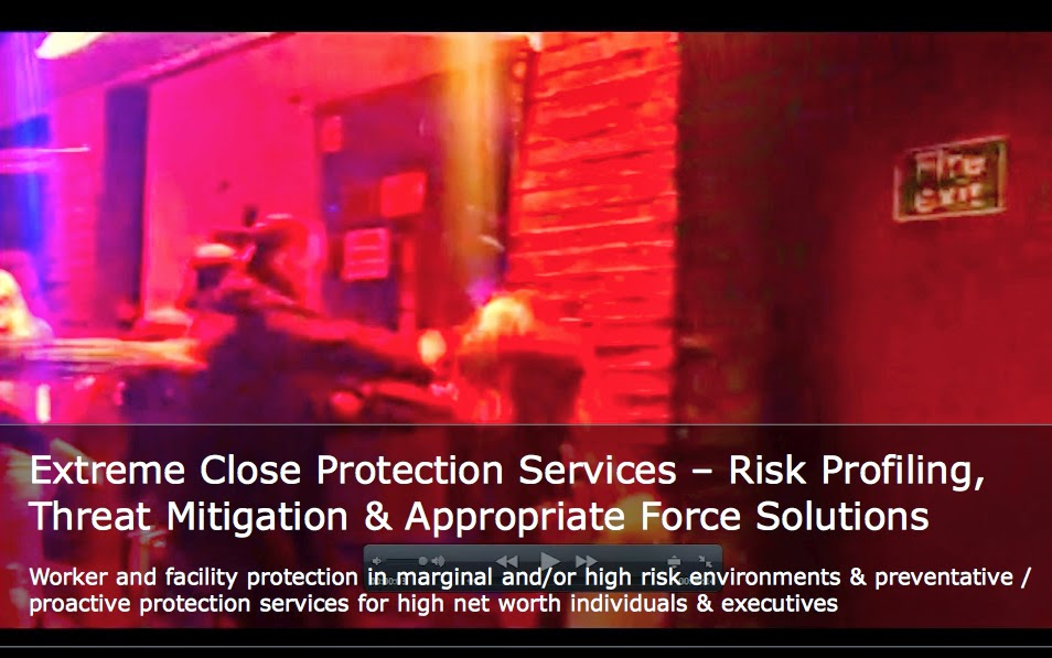 TMG Corporate Services - Extreme Close Protection Services