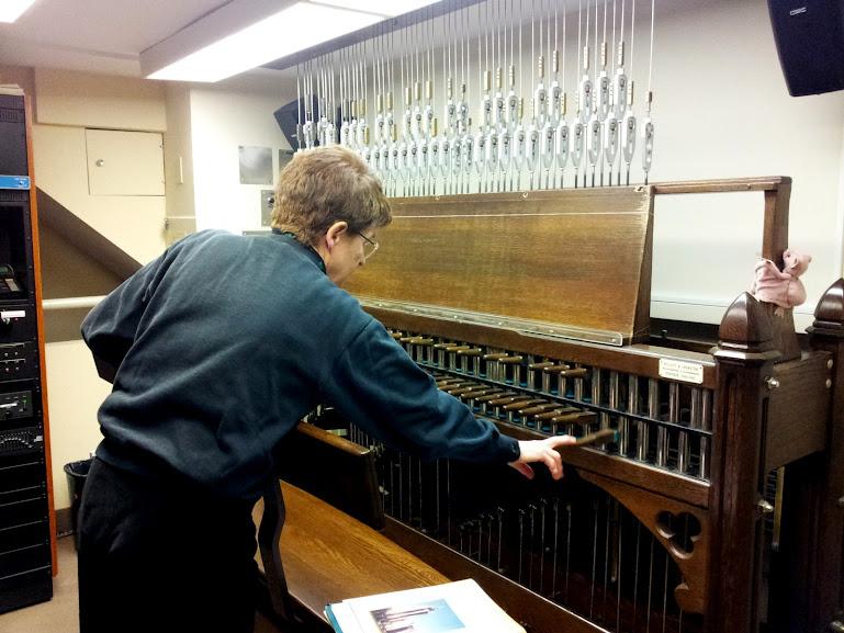 Andrea McCrady our Dominion Carillonneur