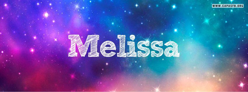 Capas para Facebook Melissa