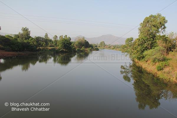 Beautiful river on way to the stunningly beautiful and lush green Varandha Ghat