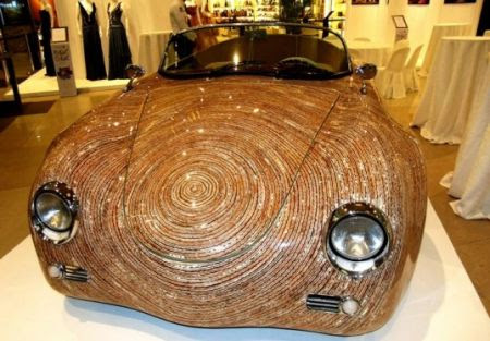 Una Cebu Car Crafted from Natural Materials by Clayton Tugonon !