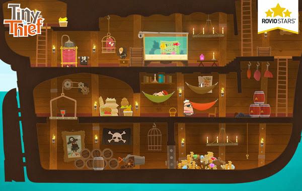Rovio Stars ấn định ngày ra mắt của Tiny Thief 2