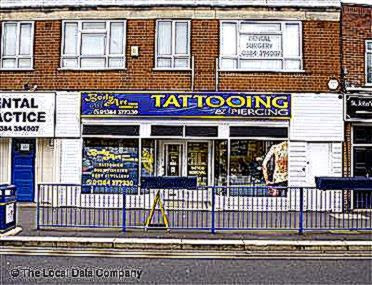 Body Art Studios   Tattoo Artists in Stourbridge DY8 1EJ