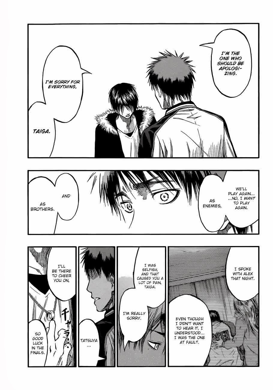 Kuroko no Basket Manga Chapter 229 - Image 15