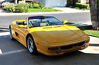 Replica Kit Car Ferrari F355 355 Spider Built on 1985 Pontiac Fiero Chassis