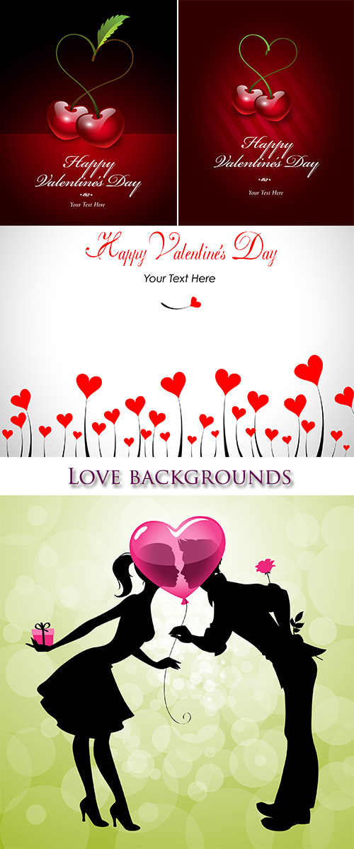 Stock: Love backgrounds