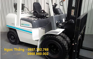 Nissan Unicarriers LPG forklift
