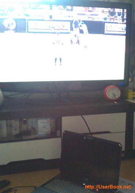 hdmi 케이블로 노트북과 TV연결해서 게임하는 방법