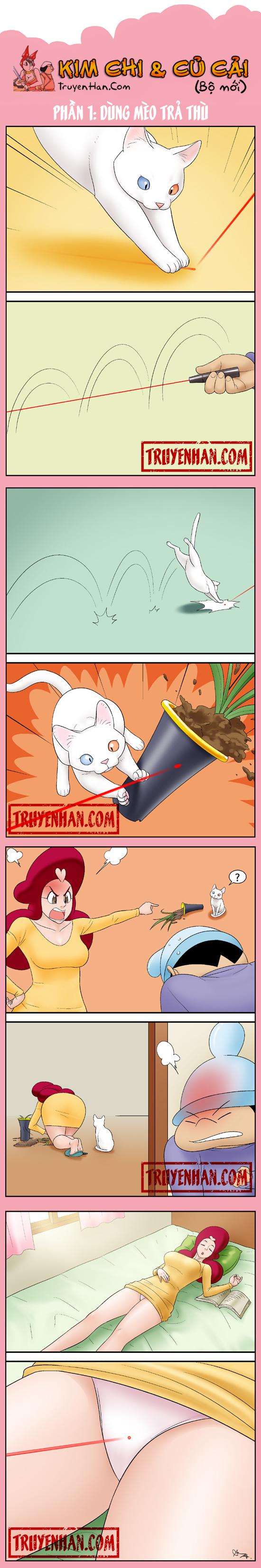 Kim Chi & Củ Cải (bộ mới) phần 1: Dùng mèo trả thù
