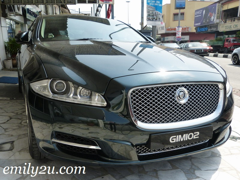 Jaguar XJL luxury car
