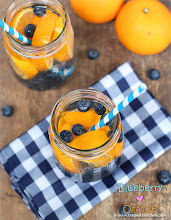 Thumbnail image for Blueberry ♥ Orange Water….. Infuse your Water!