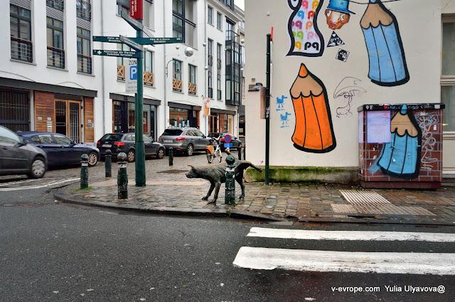 Писающая собачка, Брюссель