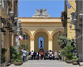 Sizilien - Trapani - Der alte Fischmarkt - Mercato del Pesce.