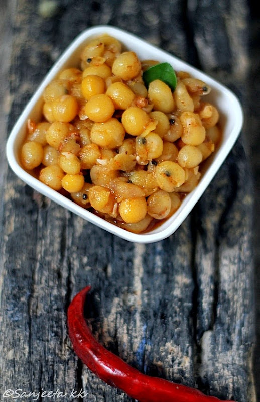 Healthy gram and lentil snacks - Sundal recipes