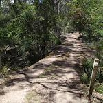 Small bridge over creek bed (104095)