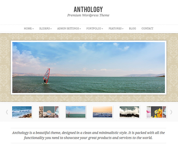 Anthology WordPress