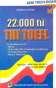 22000 words for toefl ielts harold levine