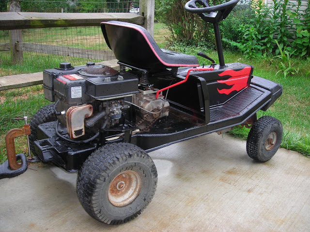 Craftsman Go Kart : Push mower go kart pictures to pin on pinterest daddy