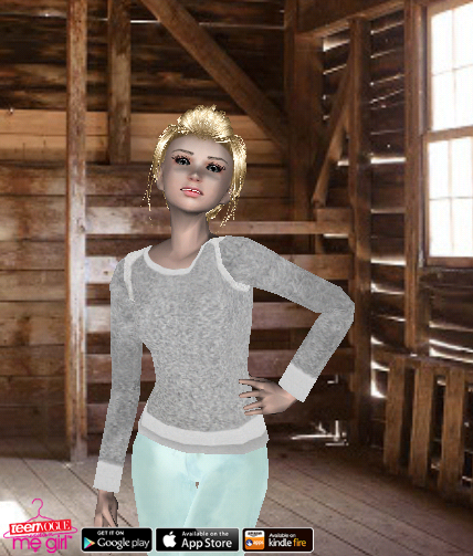 Teen Vogue Me Girl Level 68 - Chic Knits Shoot - Sienna - Snapshot