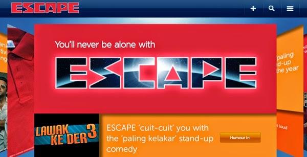 Cuit-Cuit Menang Duit @ ESCAPE