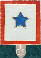 blue service star