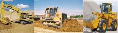 Excavator Dozer Loader Construction Machinery
