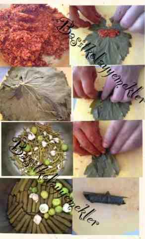 resimli zeytin yağlı sarma