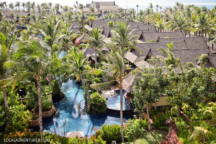 The St Regis Bali Resort in Nusa Dua Indonesia.