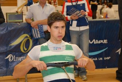 CANOTTAGGIO - L'azzurro Marcello Miani vince il titolo indoor nei Pesi Leggeri