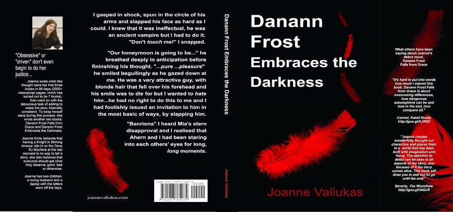 I'm Being Quoted! Dannan Frost Embraces the Darkness by Joanne Valiukas