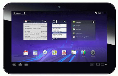 Pioneer Computers DreamBook ePad H10 HD Honeycomb tablet image
