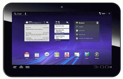 Pioneer Computers DreamBook ePad H10 HD Honeycomb tablet image