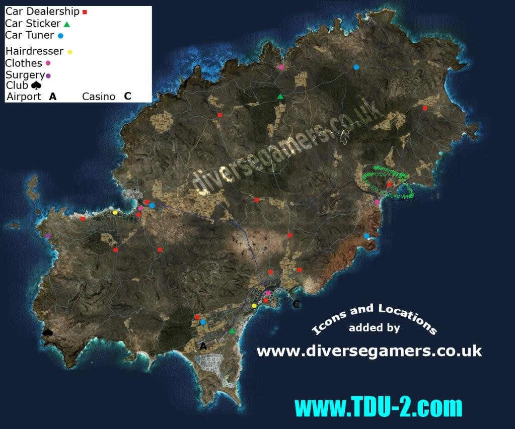 Mapa tdu 2 download